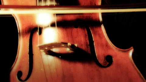 Cello 06 ARTCOLORED Stock Video Footage