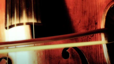 Cello 10 ARTCOLORED Stock Video Footage