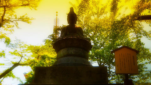 Japanese Religion ARTCOLORED 01 Footage