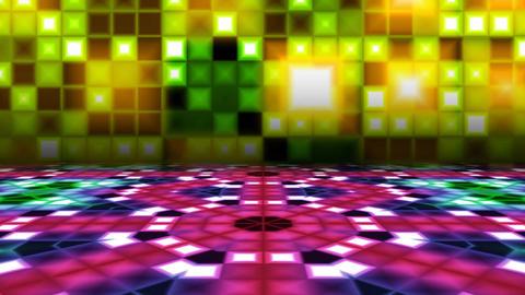 Retro Dance Floor Stock Video Footage