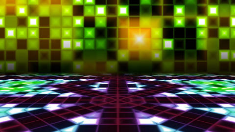 Retro Dance Floor Animation