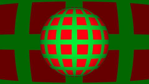 Retro Loop Sphere Animation