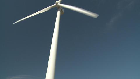 wind turbine and people Stock Video Footage