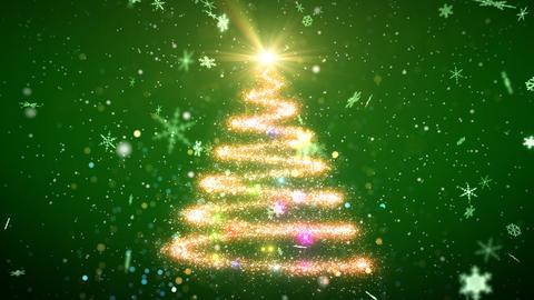 Christmas Tree Glitter Ac3 CG動画