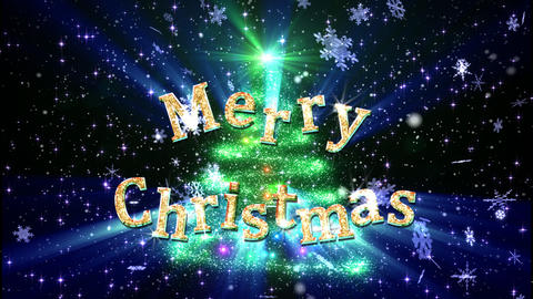 Christmas Tree Glitter Ac5 Stock Video Footage