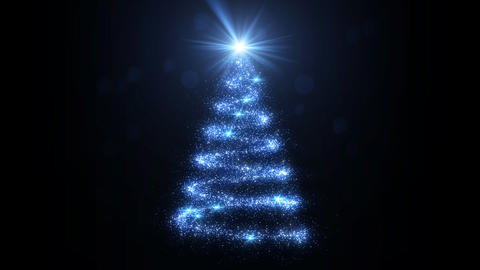 Christmas Tree Glitter Acb2 Animation