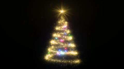 Christmas Tree Glitter Bcb Animation