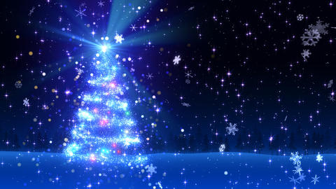 Christmas Tree Glitter Bl1 Animation