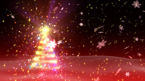 Christmas Tree Glitter Bs1 Stock Video Footage