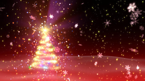 Christmas Tree Glitter Bs1 Animation
