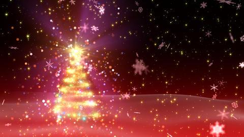 Christmas Tree Glitter Bs1 Stock Video Footage