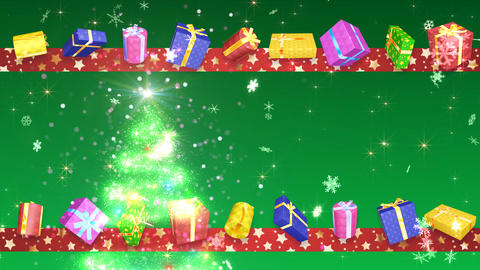 Christmas Tree Glitter Bs3 CG動画