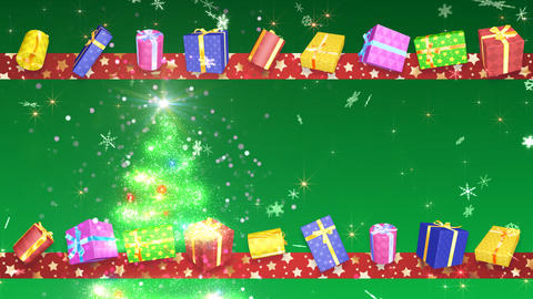 Christmas Tree Glitter Bs3 Stock Video Footage