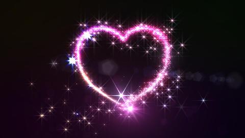 Heart Glitter 2 J2 Animation