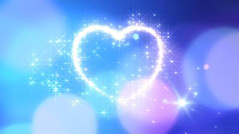 Heart Glitter 2 K1 Stock Video Footage