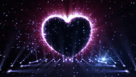 Heart Glitter 2 K3 Animation