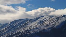 Mountain Peaks, Timelapse Stock Video Footage