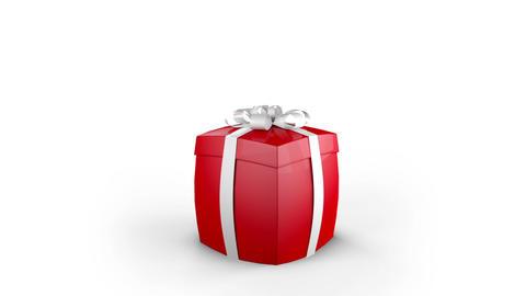 Gift Box Opening Animation