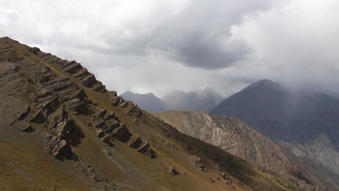 The Mountain landscape Stock Video Footage