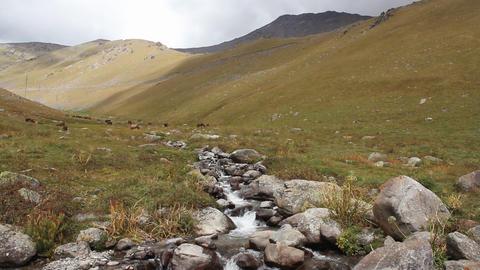 Mountain-landscape-4 Stock Video Footage