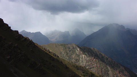 Mountain-landscape-8 Stock Video Footage