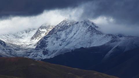 Snowy mountain Stock Video Footage