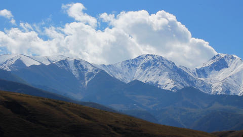 Mountain-landscape-22 Stock Video Footage