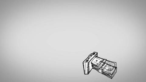 Recession animation Animation