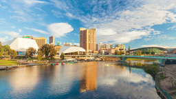 4k timelapse video of Adelaide city, Australia Footage