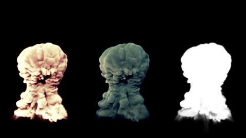 Explosion with Matte v 1 2 stylized Animation