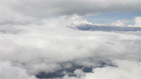 Flying over Clouds in Mexico 9 Footage