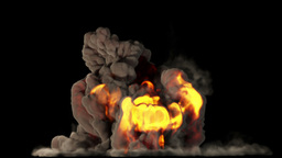 Raging Fire and Explosion with Matte v 1 1 Animation