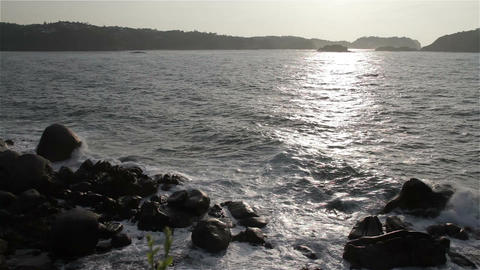 Sunrise over the Pacific in Mexico 16 Footage