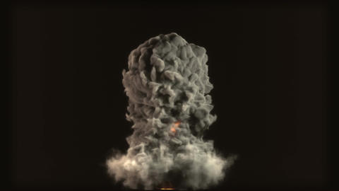 Raging Fire and Explosion with Matte v 2 2 stylize Animation