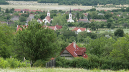 4K Old European Village In Hungary 3 stock footage