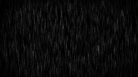 Rain 4k Animation