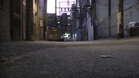 Back alley Footage