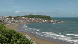 Scarborough Bay View stock footage