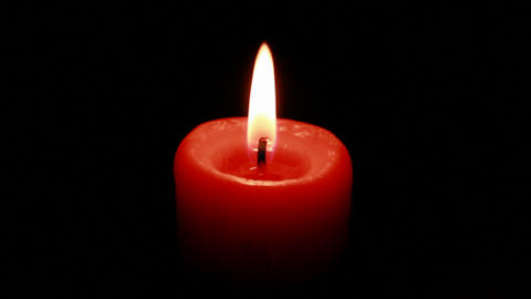 burning candle Stock Video Footage
