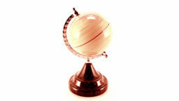 rotating globe Footage