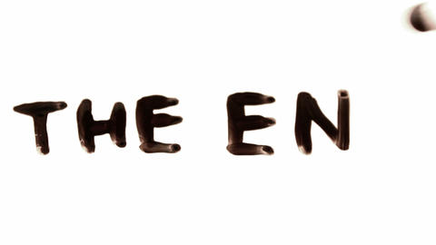 the end. written on white Live Action