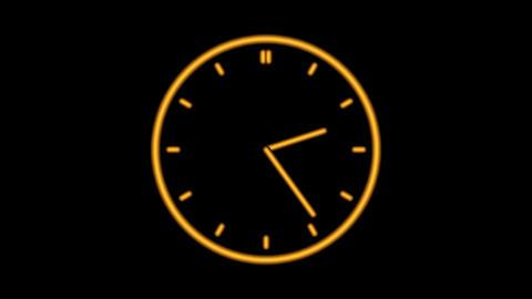 Clock-06C Stock Video Footage