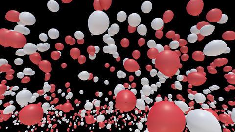 Balloon 2 Aa B Stock Video Footage