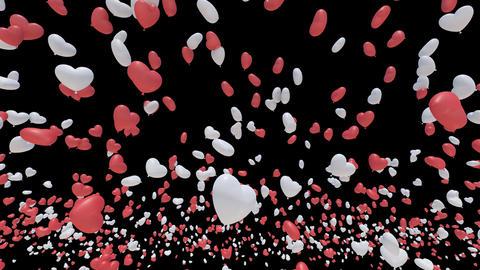 Balloon 2 H Aa B Stock Video Footage