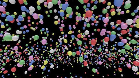 Balloon Aa B Stock Video Footage