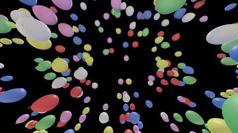 Balloon Ca B Stock Video Footage