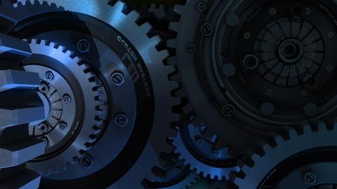 various mechanisms Stock Video Footage
