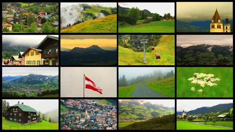 Alps Splitscreen 01 Footage