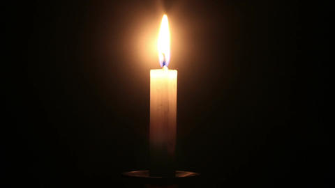 Candle Timelapse Stock Video Footage