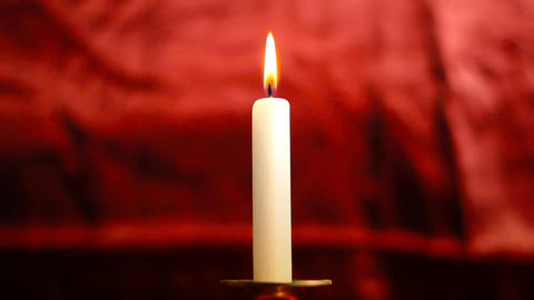 Candle 03 Stock Video Footage